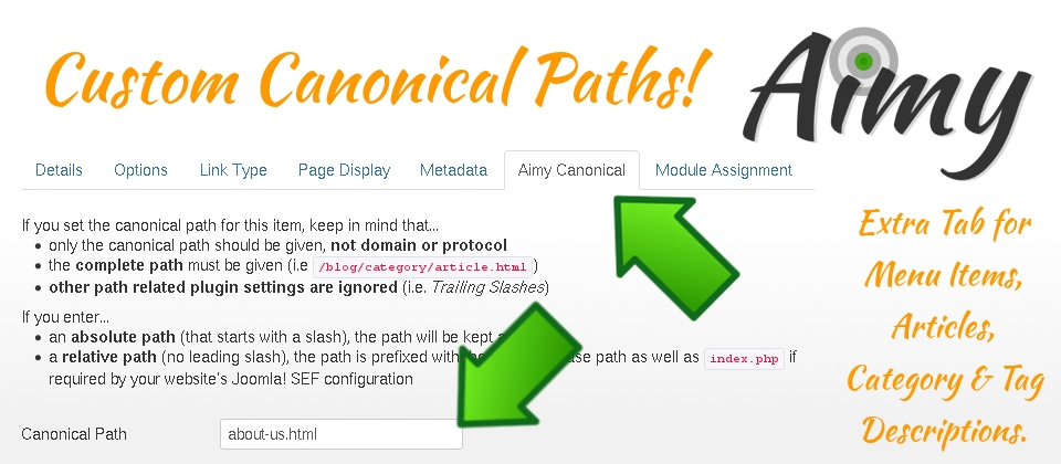 Custom Canonical Path Teaser