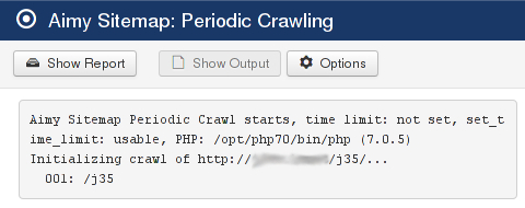 Periodic Crawl Output