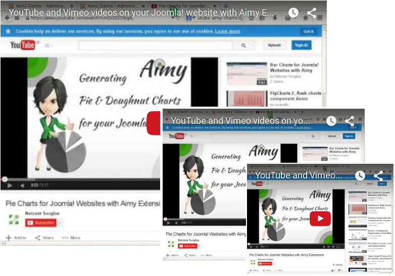 Aimy Video Embedder for Joomla! | GDPR friendly | Aimy Extensions